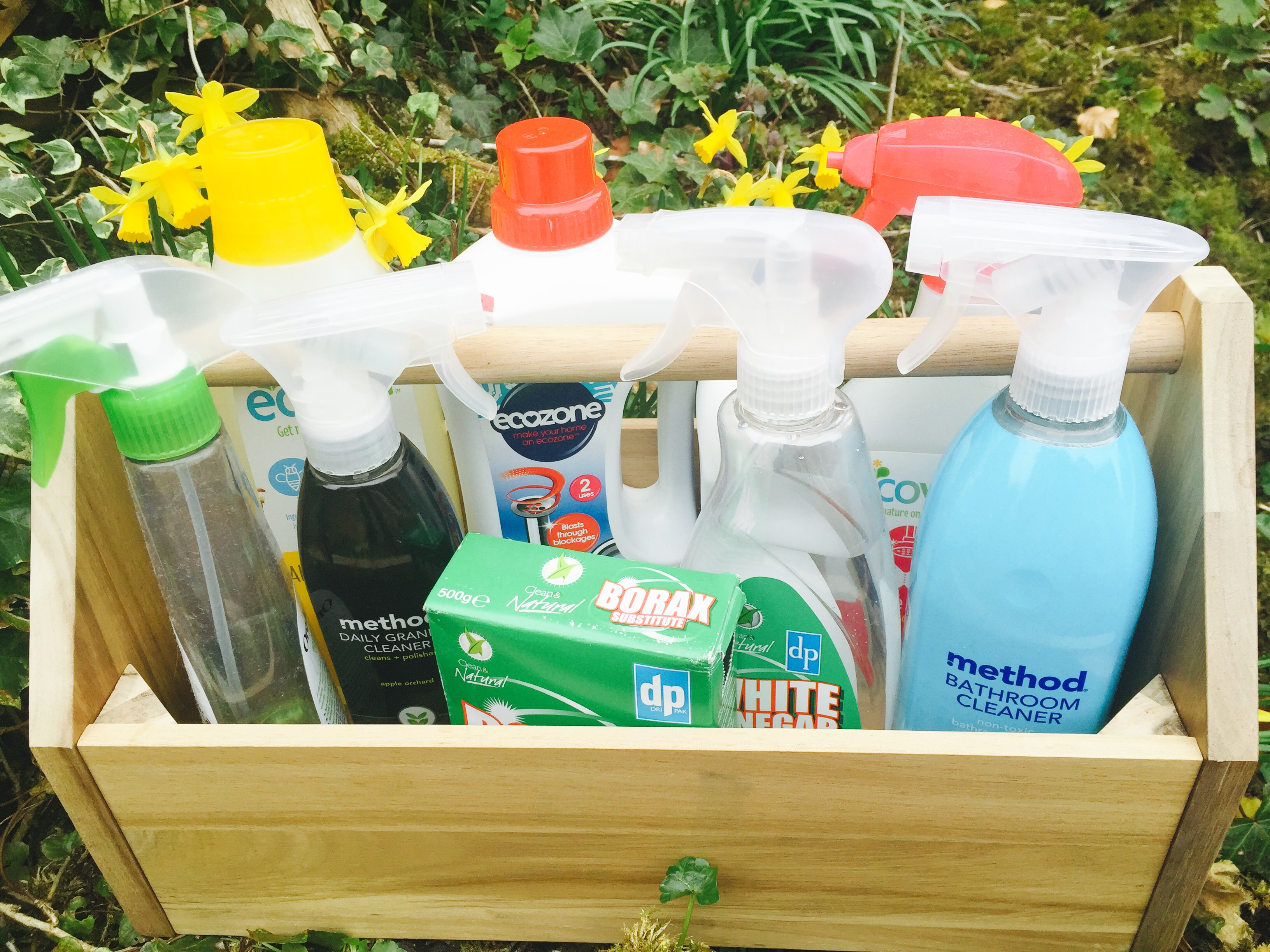A Z Of Natural Cleaning To Help You Make Your Home Sparkle