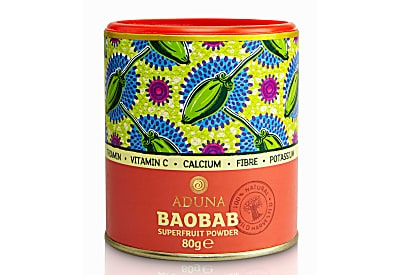 Aduna Baobab Superfruit Powder (80g, loose)