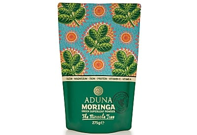 Aduna Moringa Superleaf Powder (275g, loose pouch)
