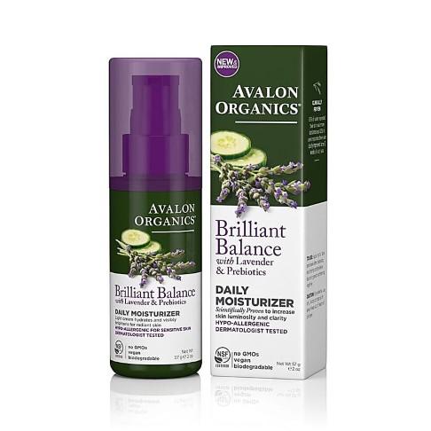 Avalon Organics Brilliant Balance Daily Moisturiser