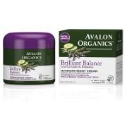 Avalon Organics Brilliant Balance Ultimate Night Cream