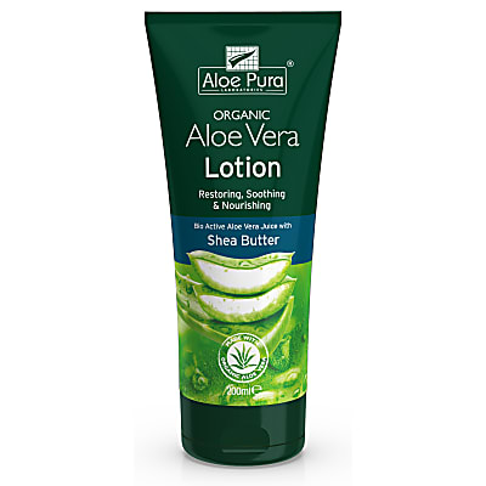Aloe Pura Aloe Vera Lotion with Shea Butter & Vitamin E