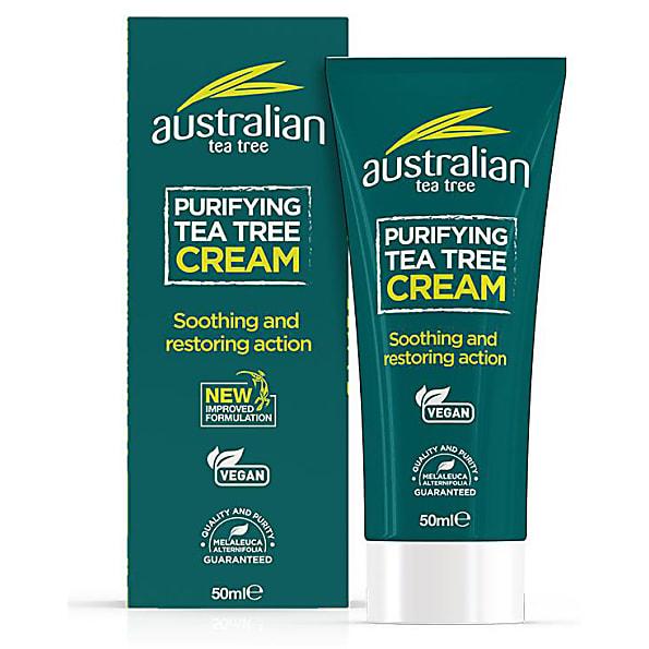 The best bathroom cleaner - Australian Tea Tree Organic Antiseptic Cream
