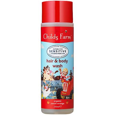 Childs Farm Organic Orange Hair & Body Wash
