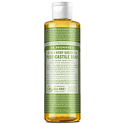 Dr. Bronner's Green Tea Castile Liquid Soap - 236ml