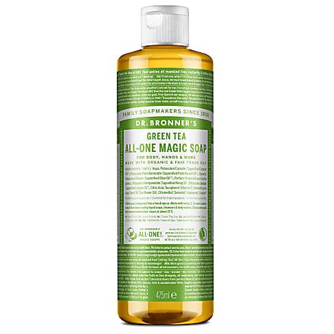 Dr. Bronner's Green Tea Castile Liquid Soap - 473ml