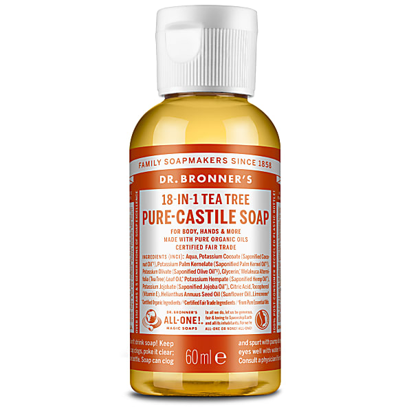 Dr bronners tea tree oil soap