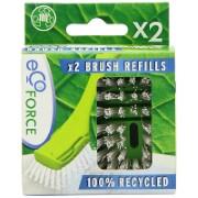 Ecoforce Brush Refills (2 pack)