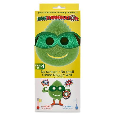 Eco Egg Eggsterminator Multi-Purpose Cleaning Sponge - 4 x Pack