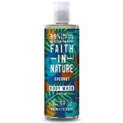 Faith in Nature Coconut Shower Gel & Foam Bath Sample