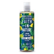 Faith in Nature Lemon & Tea Tree Shower Gel & Bath Foam