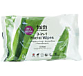 Faith in Nature 3-in-1 Facial Wipes (pack of 25)