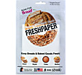 FreshPaper Organic Paper Sheets - Fresh Bread 8 Pack