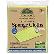If You Care 100% Natural Sponge Cloths