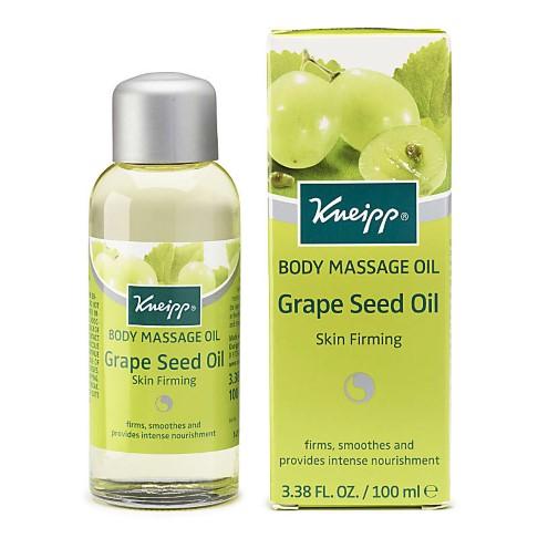 Grape oil massage