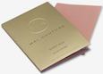 Mai Couture Blush Paper Booklet