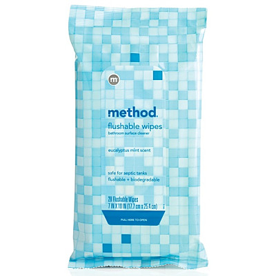 Method Tub + Tile Flushable Wipes