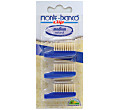Monte-Bianco Adult Bristle Toothbrush Replacement Heads x 3