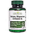 Natures Aid Calcium, Magnesium & Vitamin D3 - 90 tablets