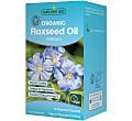Natures Aid Organic Flaxseed Oil Capsules (Omega 3) - 90 capsules