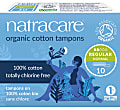Natracare Organic Cotton Tampons (packs of 10)
