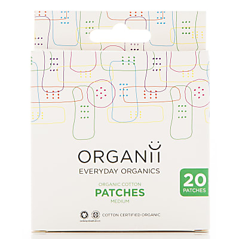 Organii Organic Cotton Plasters - 20's 7x2cm