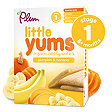 Plum Little Yums Organic Nibbly Wafers - Pumpkin & Banana
