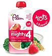 Plum Mighty 4 Kale Strawberry Amaranth and Greek Style Yogurt