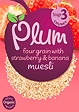 Plum Four Grain With Strawberry & Banana Muesli