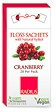 Radius Floss Sachets with Xylitol - Cranberry