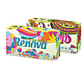 Renova Green 100% Recycled White Tissues - Box of 80