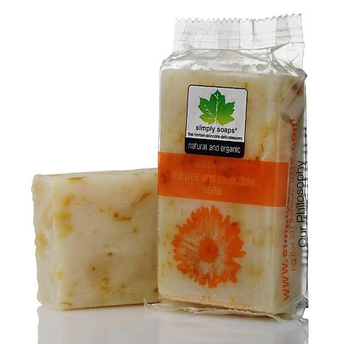 Simply Soaps Tea Tree & Calendula Natural Soap