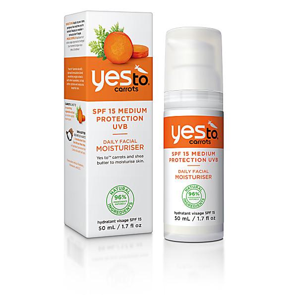 Skincare Yes To Carrots Daily Facial Moisturiser SPF15