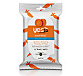 Yes to Carrots Fragrance Free Travel Wipes (10 pack)