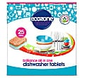 Ecozone Brilliance All In One Dishwasher Tablets - 25
