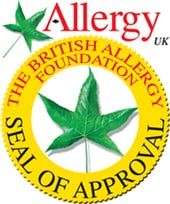 Allergy Free Certified products