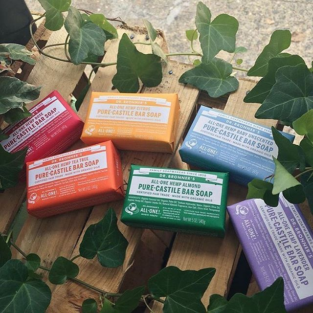 dr bronners plastic-free soap