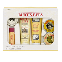 burts bees foot kit