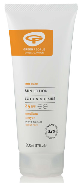 Green People Fragrance Free Sun Cream SPF 30