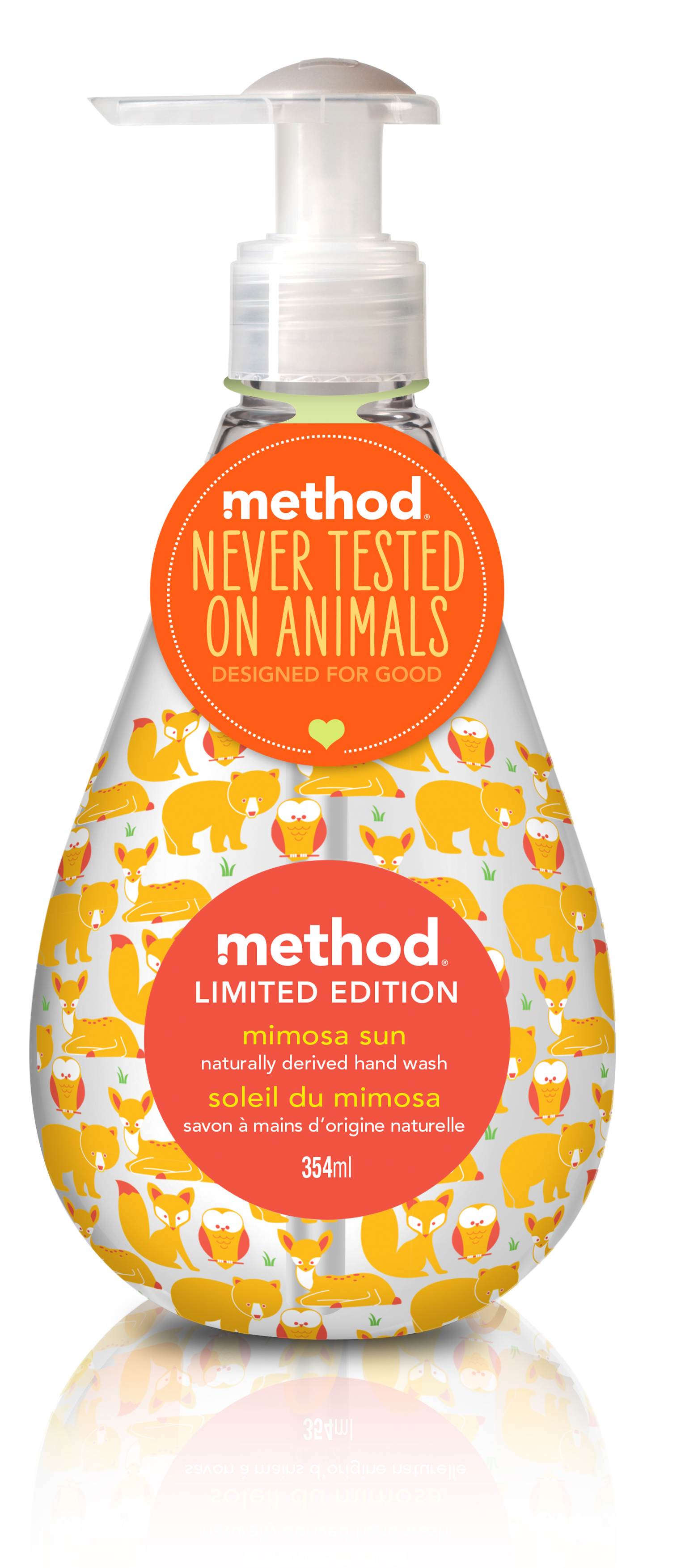 method mimosa hand wash