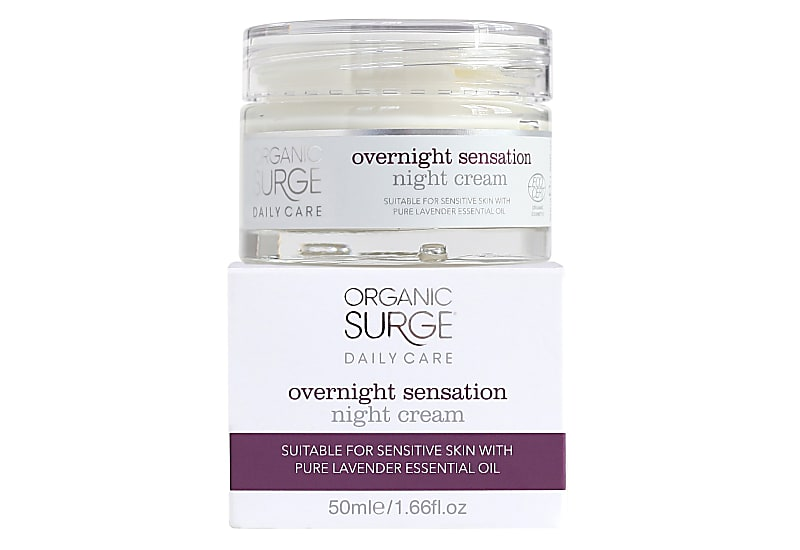 organic surge night cream