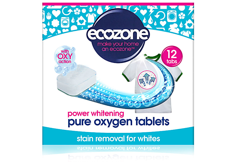 ecozone pure oxygen tablets stain removal for whites