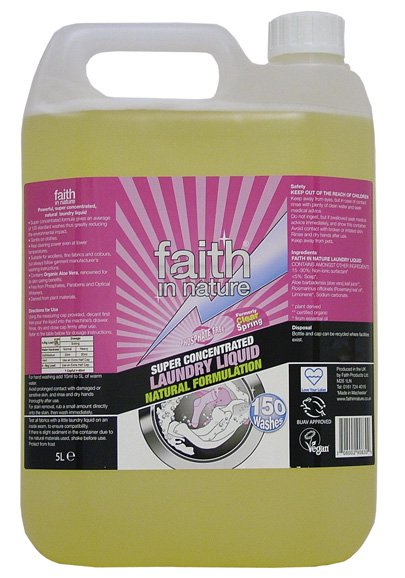 Faith in Nature laundry liquid refill