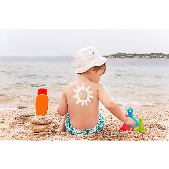 safest natural sunscreen for babies and children