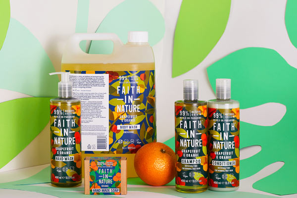 20% korting op Faith in Nature
