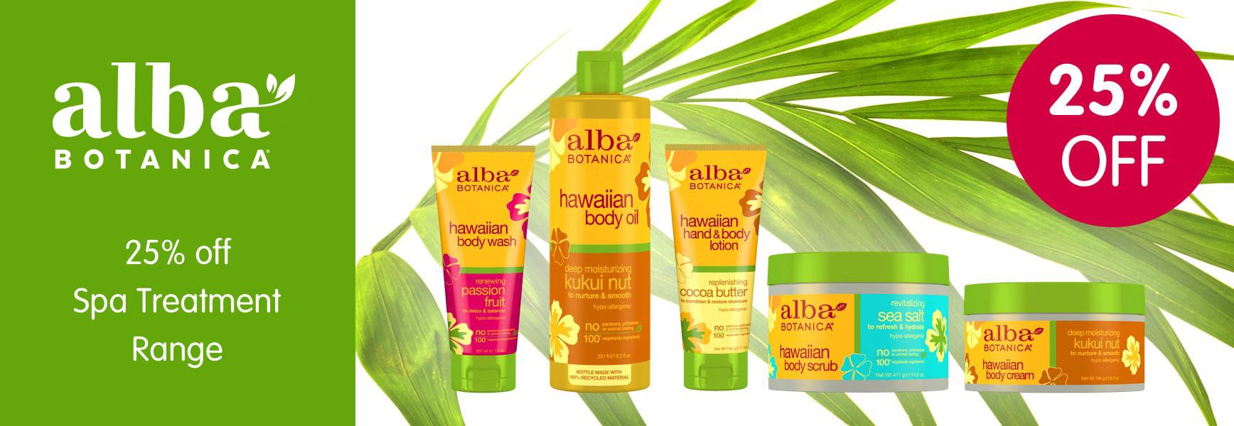 Alba Botanica: natural, 100% vegetarian personal care products