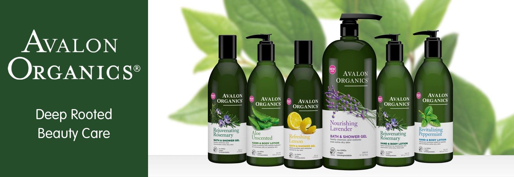 Avalon Organics Natural Hair And Skin Care