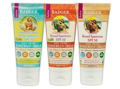 badger foot cream