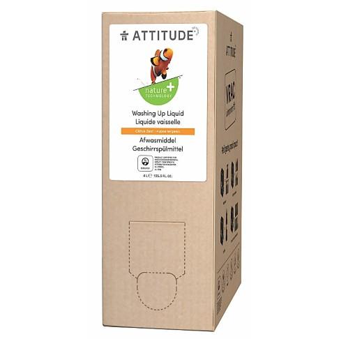 Attitude Dishwashing Liquid - Citrus Zest 4L