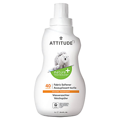 Attitude Fabric Softener Citrus Zest - 40 Loads